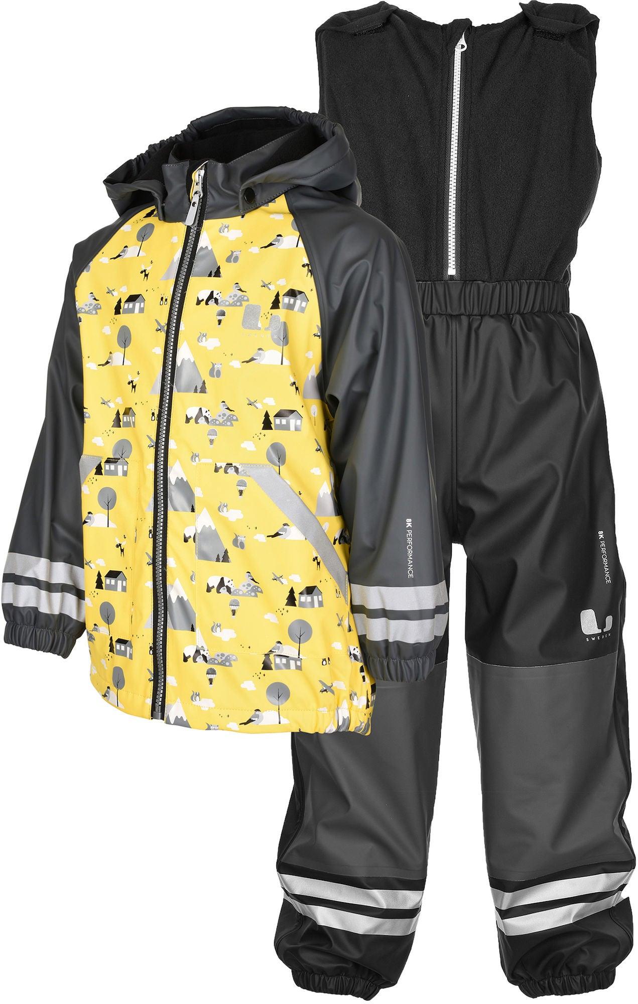 Lindberg Lysekil Regnställ, Yellow 80