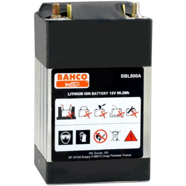 Bahco BBL800A Starthjelpbatteri 8 A, 12 V