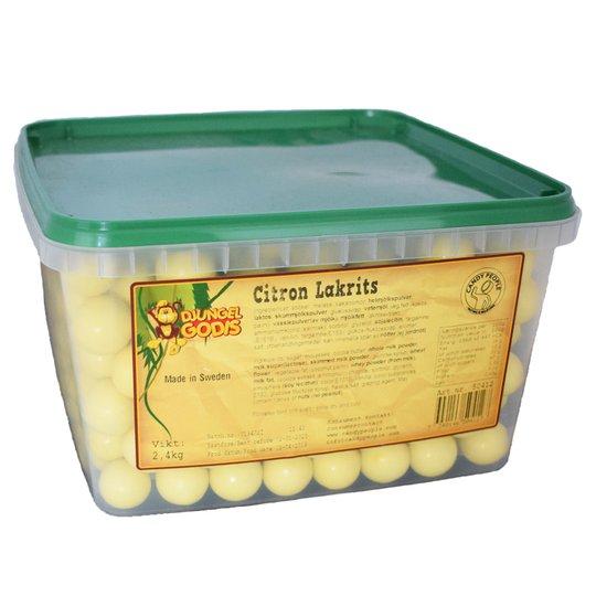 Lakritskulor Citron - 48% rabatt