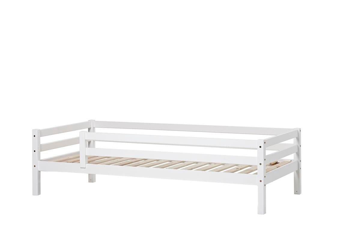 Hoppekids - BASIC Bed With Safety Rail 90x200 cm - White