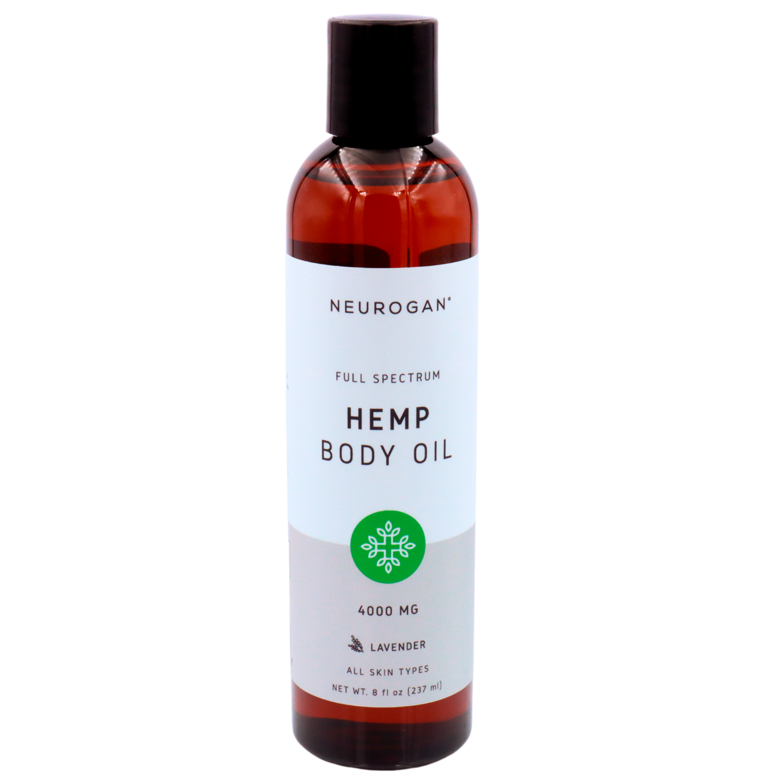 Neurogan - CBD Soothing & Repairing Body Oil 4000 mg 240 ml