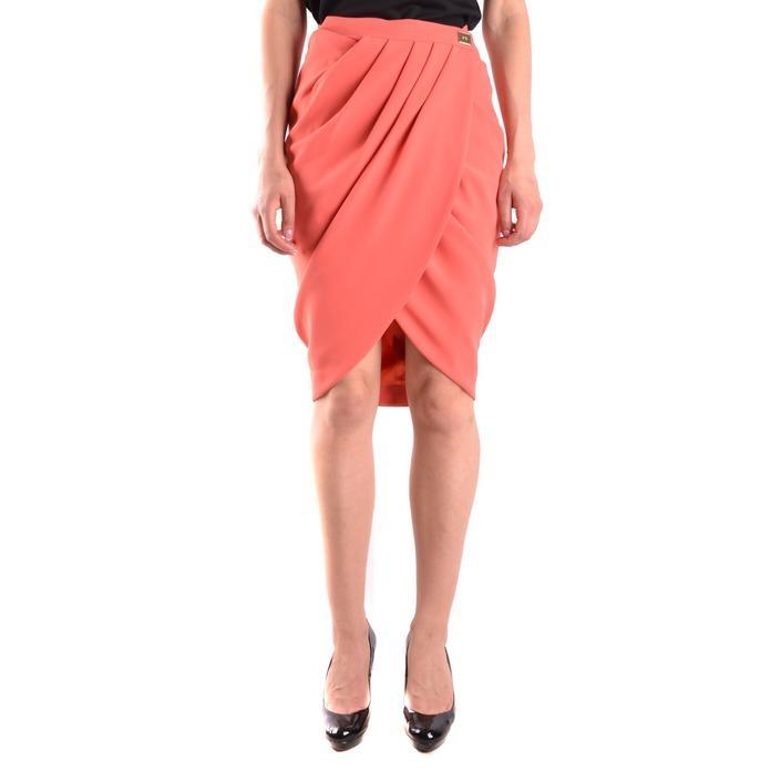 Elisabetta Franchi Women's Skirt Coral 186685 - coral 42
