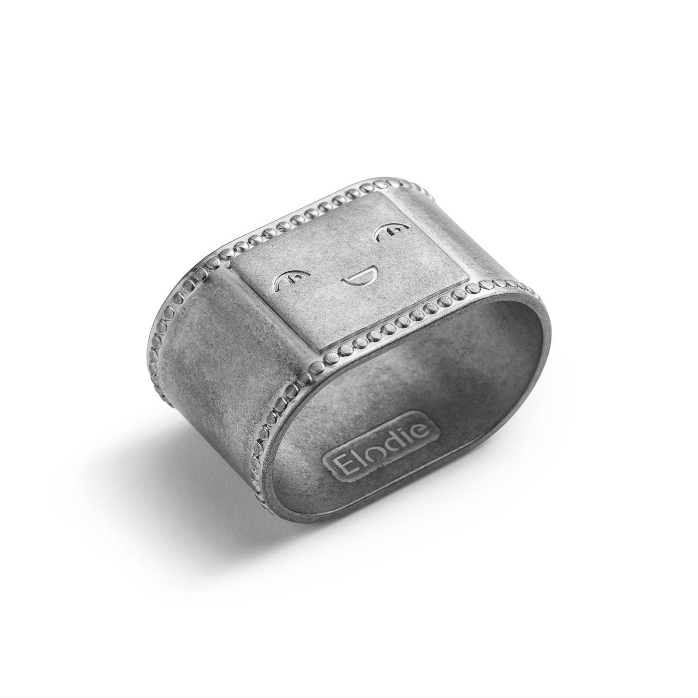 Napkin Ring - Antique Silver