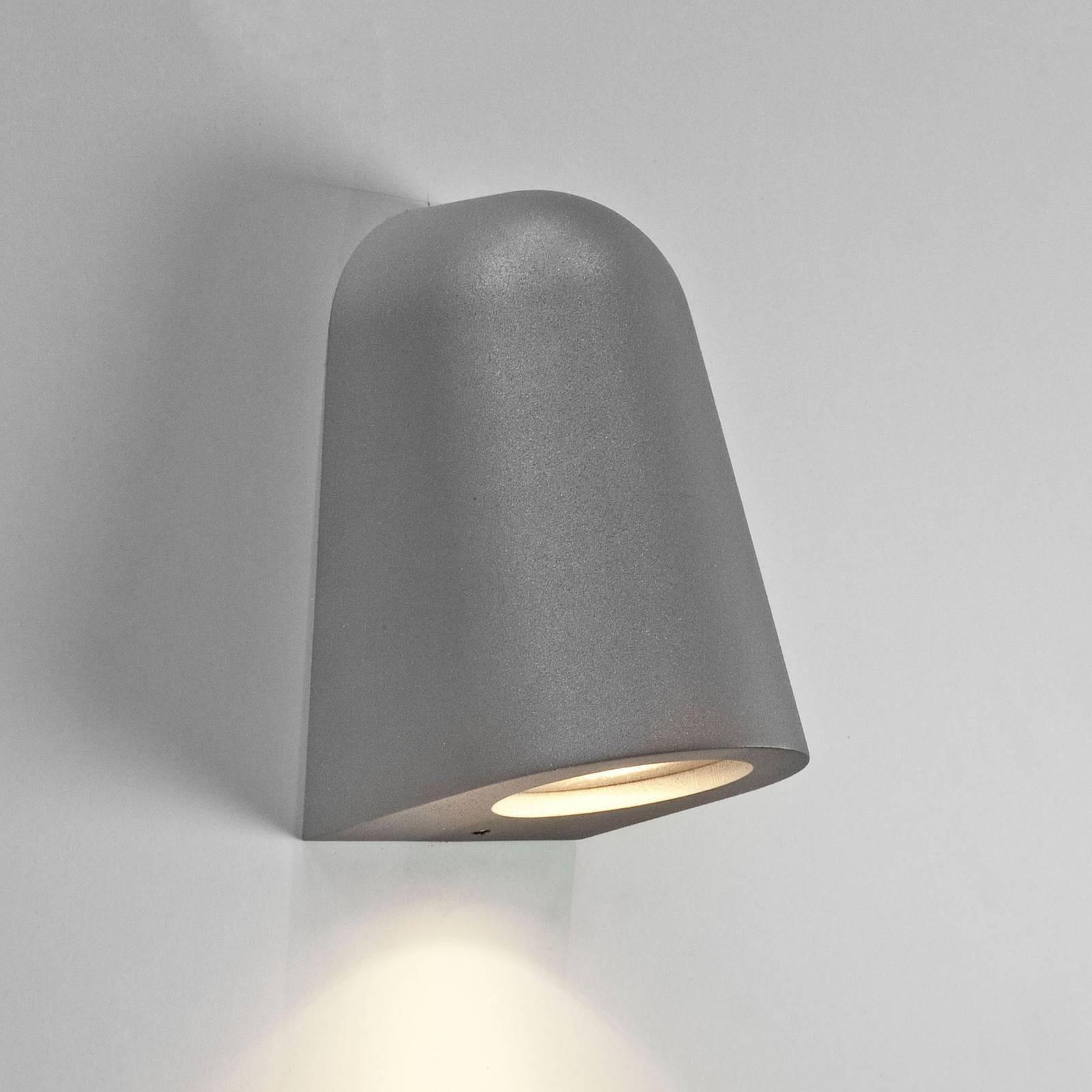 Astro Mast Light -ulkoseinälamppu, harmaa