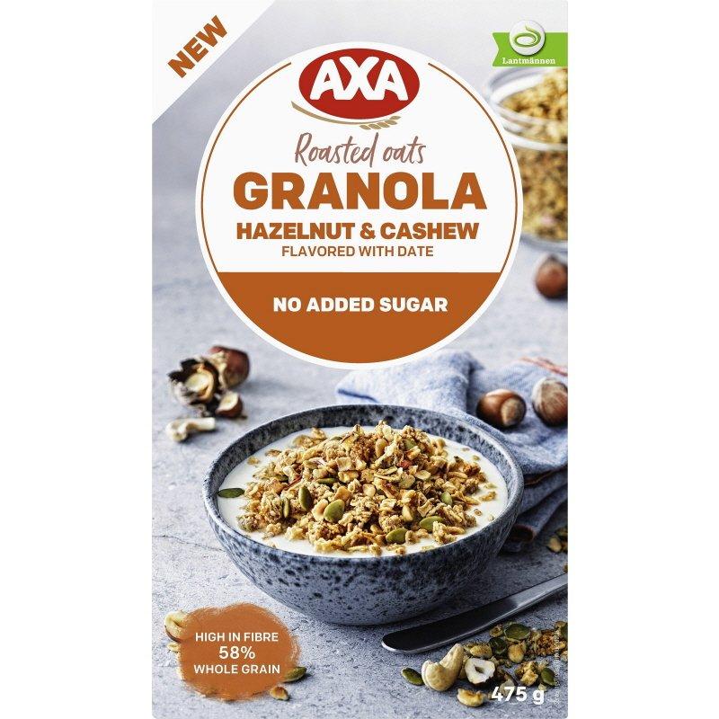 Granola Hassel- & Cashewnötter - 12% rabatt