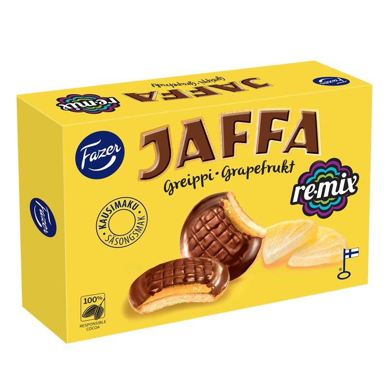 Jaffa Remix Greippi Täytekeksit - 35% alennus