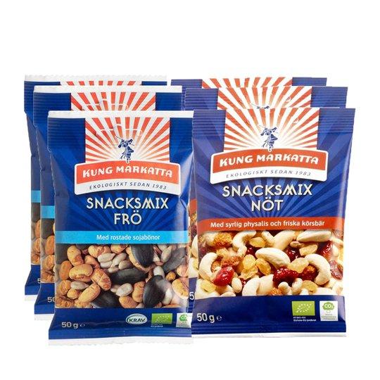 Snacksmix Paket - 64% rabatt