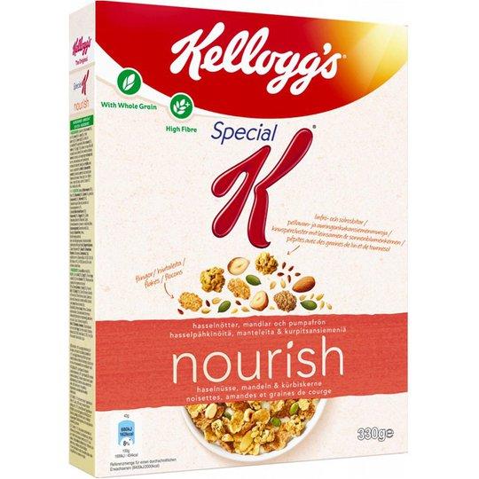 """Frukostflingor """"Nourish"""" 330g - 67% rabatt"""