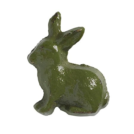 håndtak Kanin 5x4 cm - Grønn