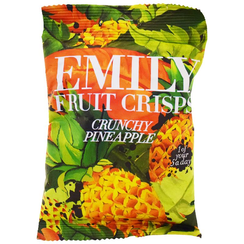 Fruktchips Ananas 30g - 66% rabatt