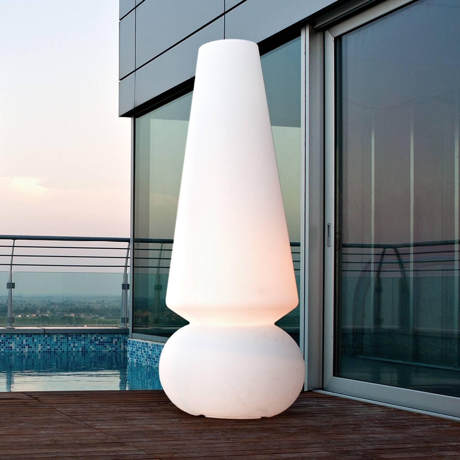 Ulkotilojen LED-lattiavalaisin MARGE