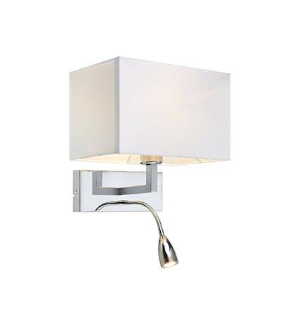 Savoy Vegglampe Messing