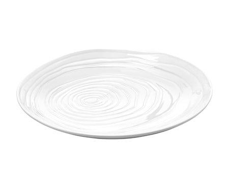 Boulogne tallerken flat hvit, Ø 26,5 cm