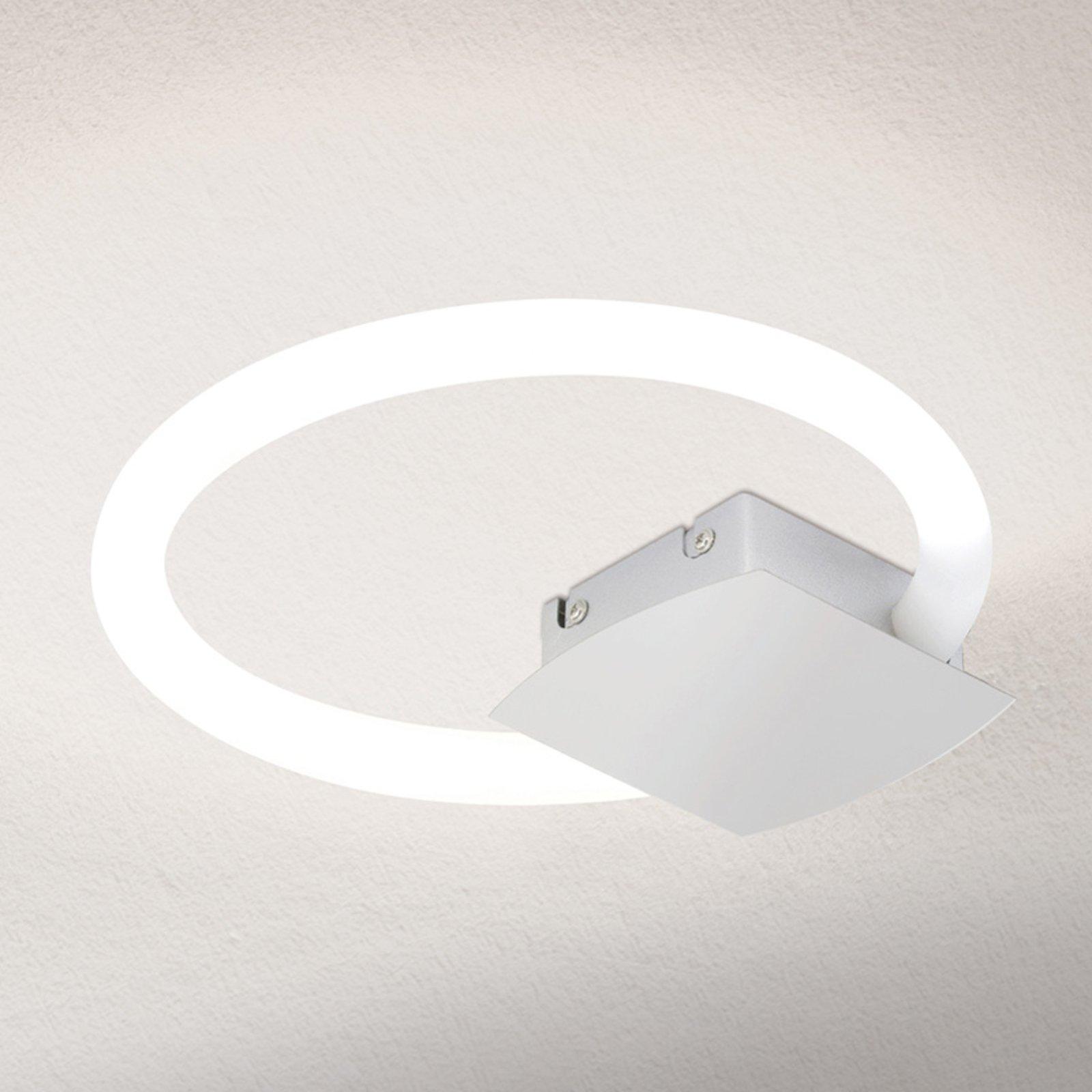 LED-taklampe Karlsson i ringform, 26 cm