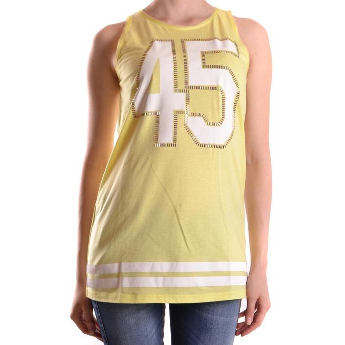 Pinko Women's T-Shirt Yellow 160962 - yellow S