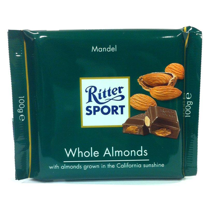 Ritter Sport Whole Almonds - 37% rabatt