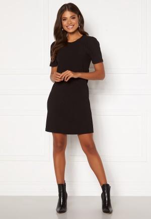Happy Holly Emilia puff dress Black 48/50