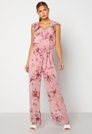 Happy Holly Scarlett Jumpsuit Pink / Floral 36/38