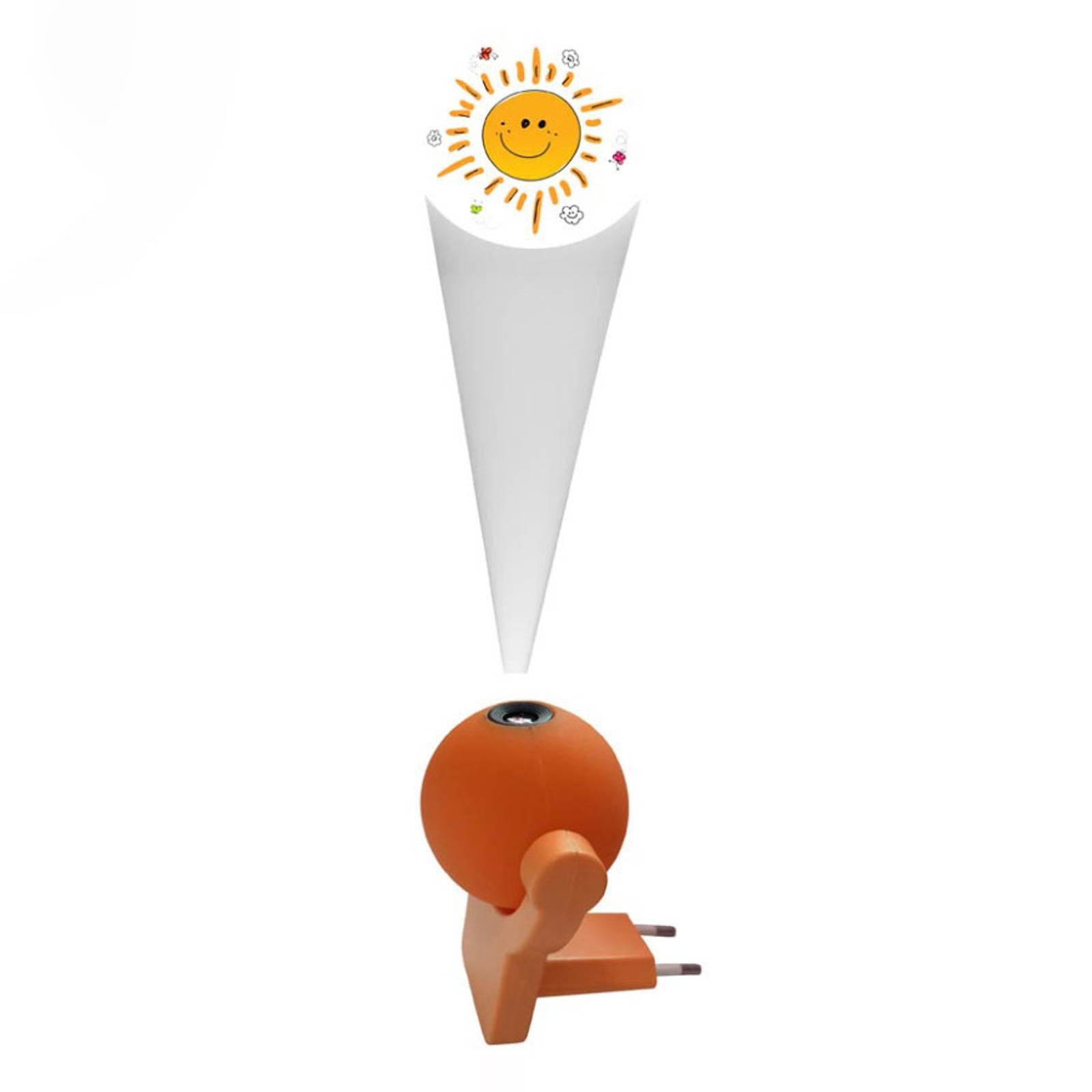 LED-nattlampe Sunny