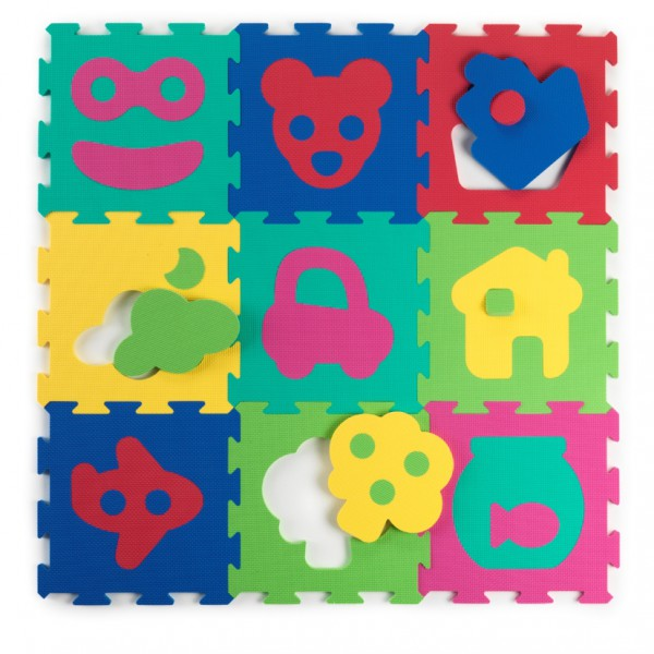 BabyToLove - Playing tiles - Puzzles (BTL350147)