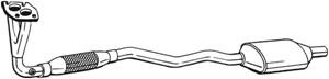 Katalysaattori, Edessä, OPEL,VAUXHALL, 24418589, 24418591, 5854198, 5854261, 5854262, 5854401, 5854403, 854442, 854445, 90531255, 905312