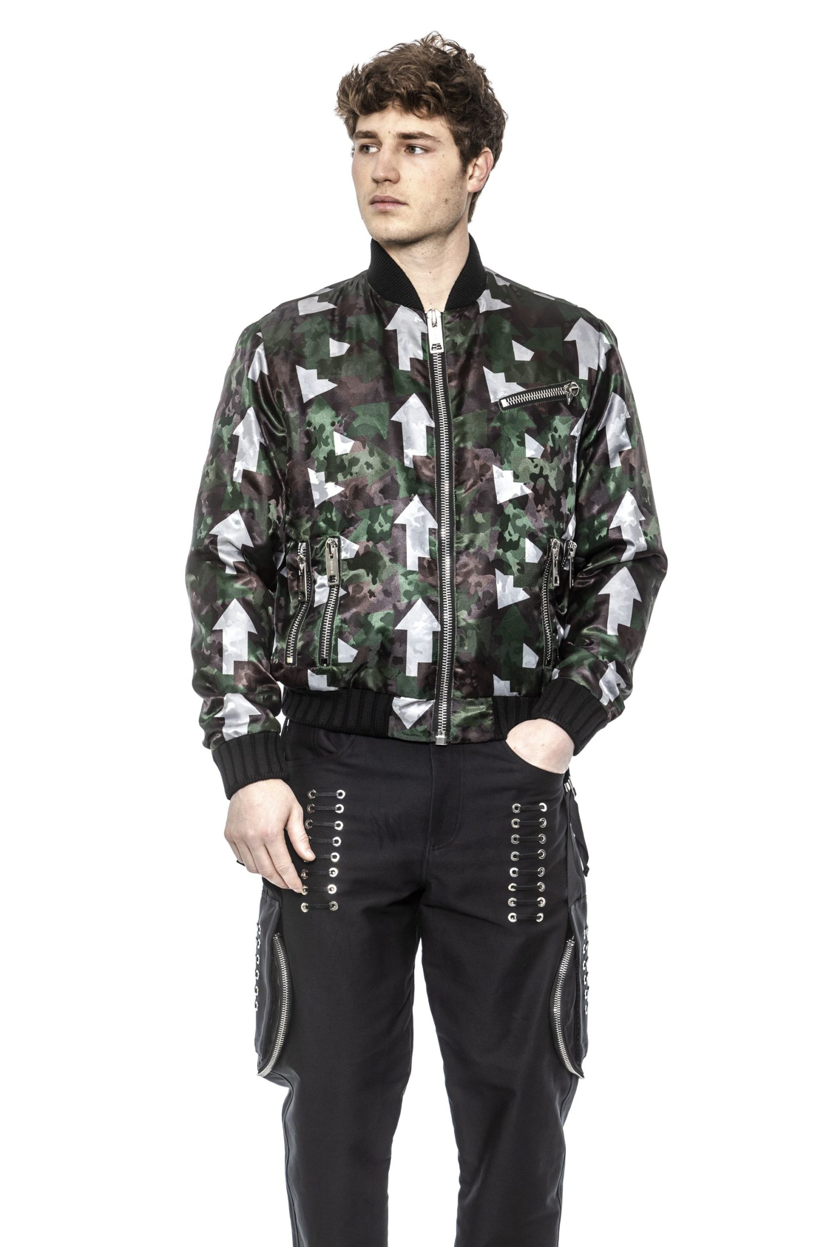 Les Hommes Men's Jacket Green LE1393303 - IT50 | L