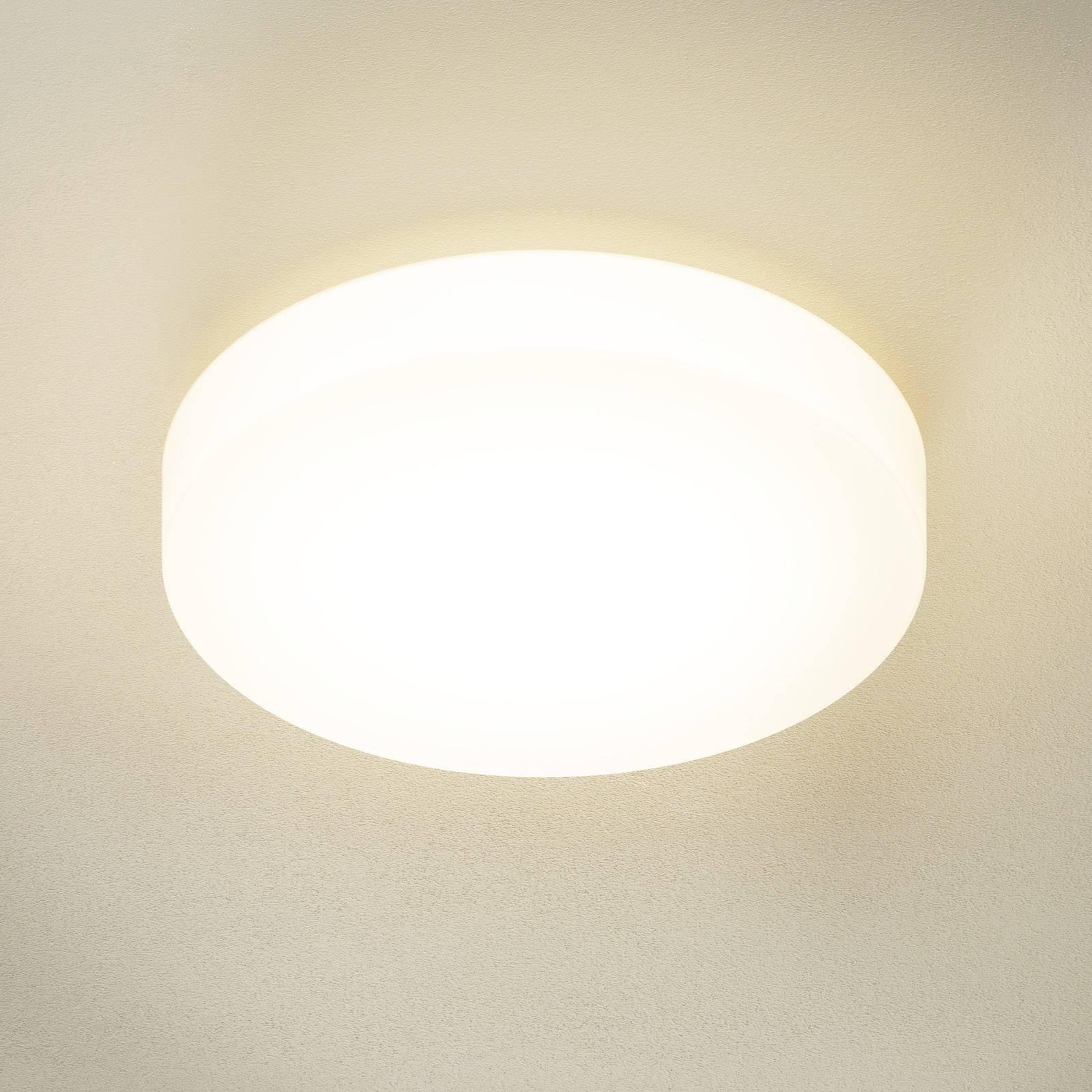 BEGA 23297 LED-taklampe glass DALI 3 000 K Ø 47 cm