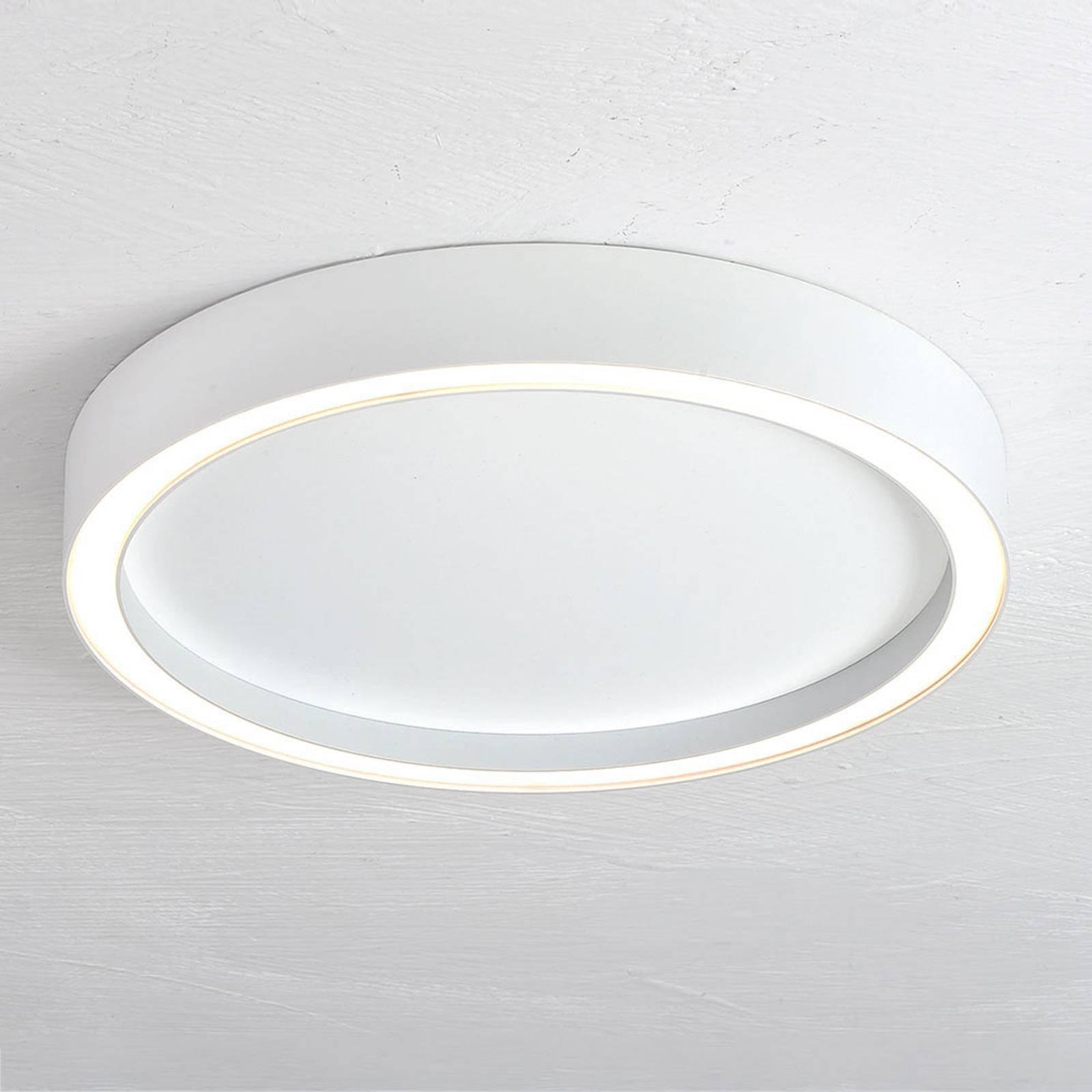 Bopp Aura LED-taklampe med Ø 30cm hvit/hvit
