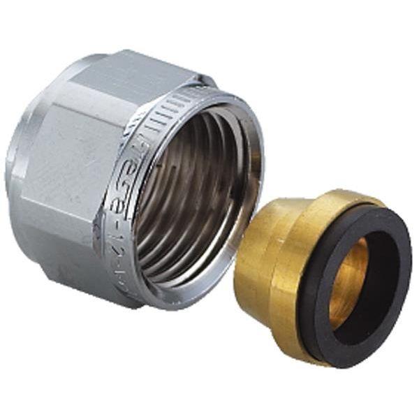 TA 3006157962 Klemringskobling halvkobling, forkrommet 10xG10