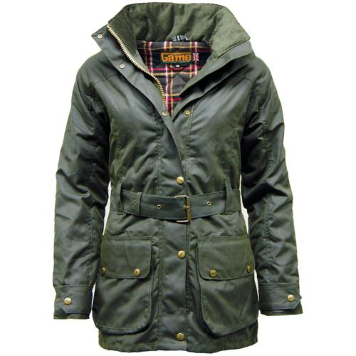 Game Technical Apparel Women's Jacket Various Colours Cantrell Wax - Olive XS