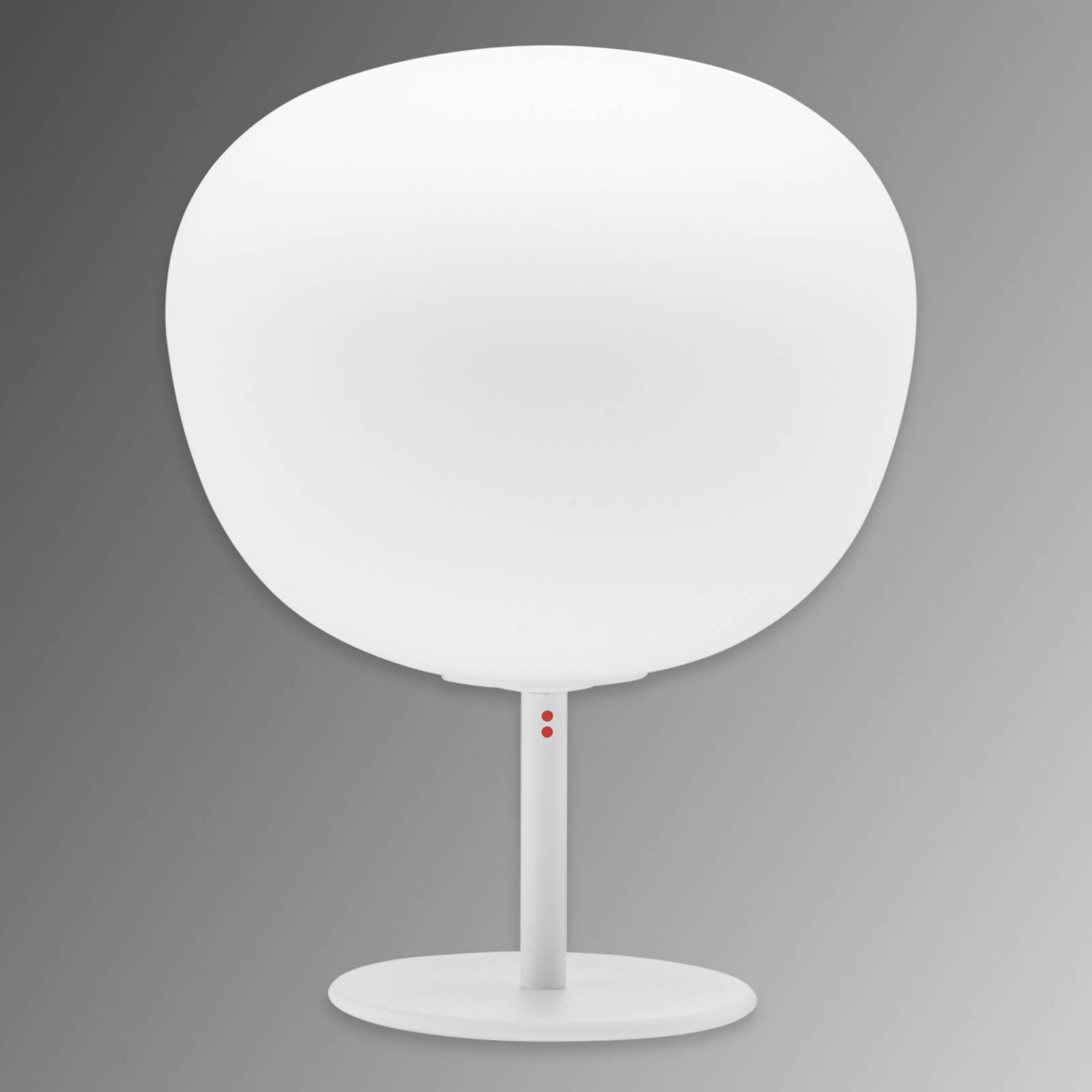 Fabbian Lumi Mochi -pöytälamppu, pysty, Ø 20 cm