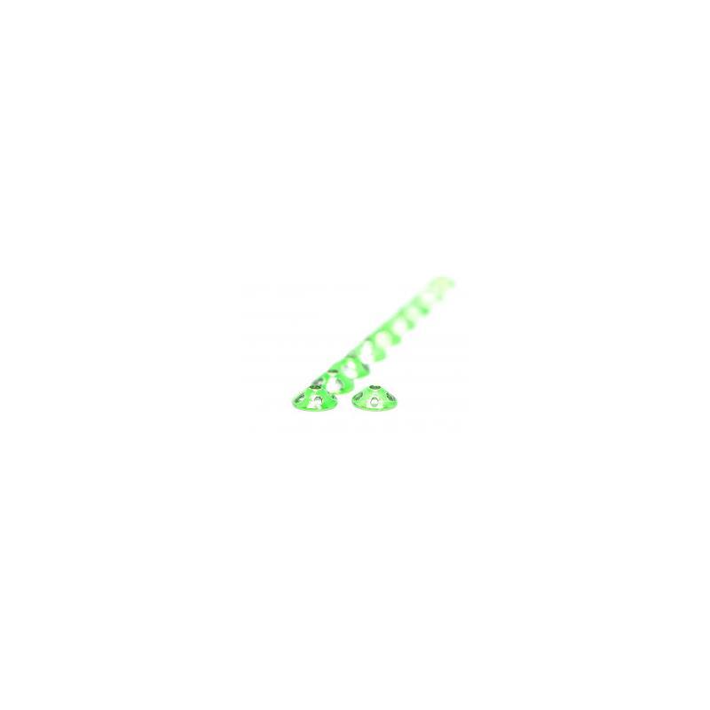 FF Drainer Disc Metallic Green 8 mm FutureFly