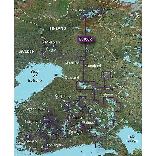 Garmin BlueChart g3 HD HXEU055R sjökort över Finlands sjöar