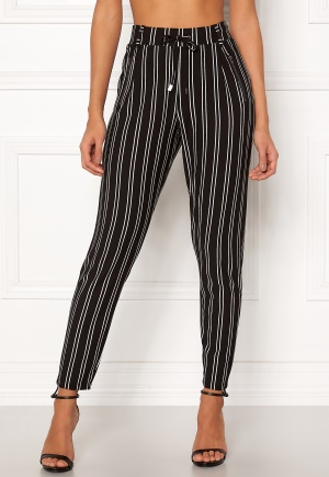 Happy Holly Cleo Trousers Striped 44/46