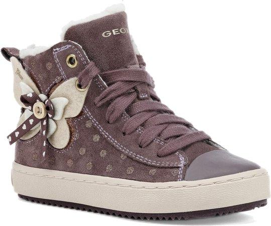 Geox Kalispera Sneaker, Light Prune 27