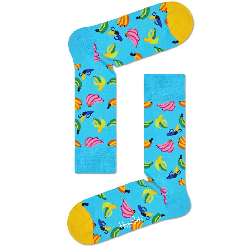 Banana Socks Blå Stl 41-46 - 40% rabatt