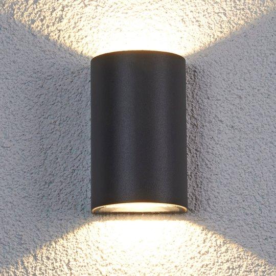 Puoliympyrä LED-ulkoseinävalaisin Jale