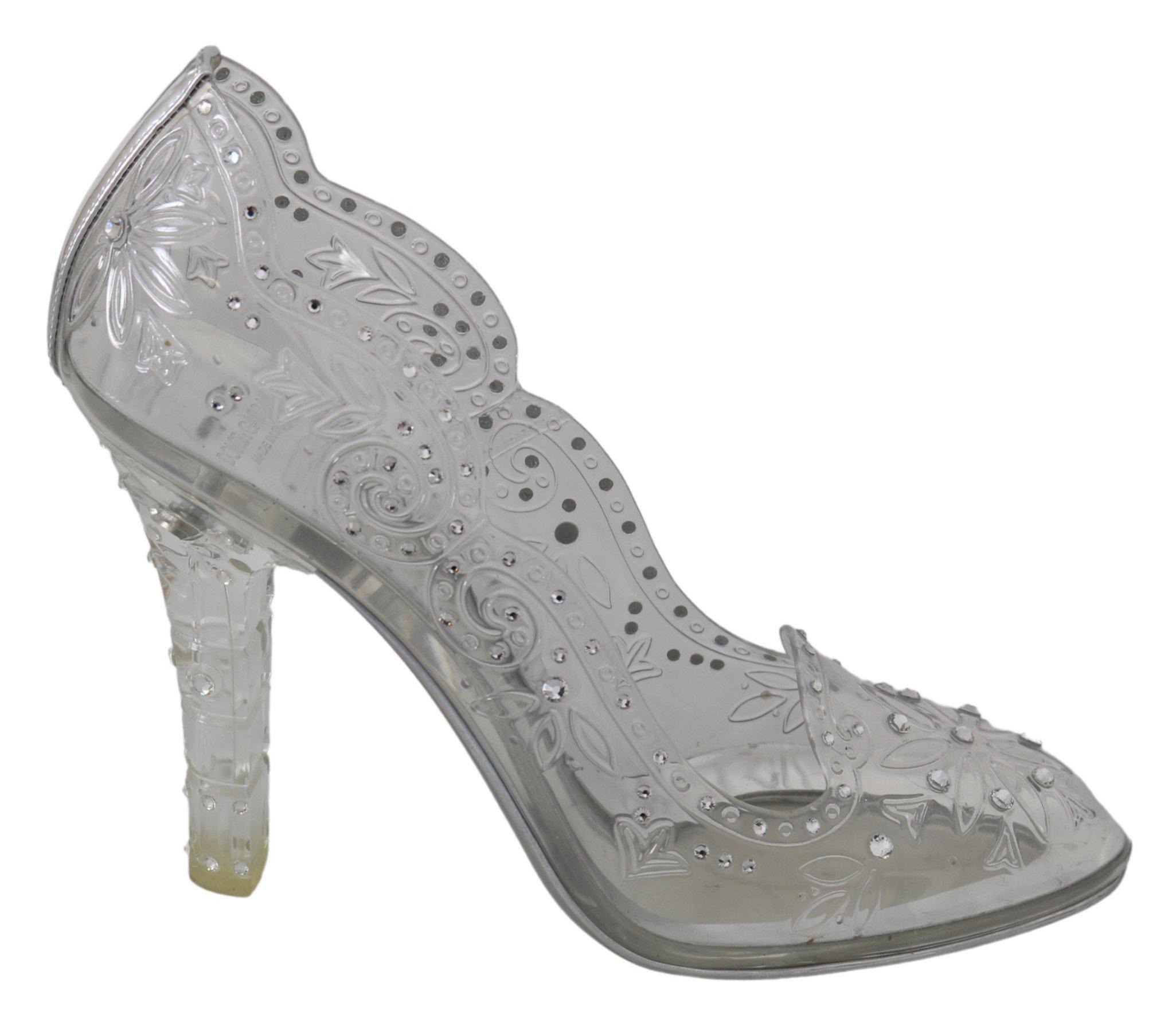 Dolce & Gabbana Women's Crystals Pumps LA7266 - EU40/US9.5