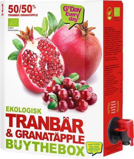 Juice Granatäpple & Tranbär Eko - 21% rabatt