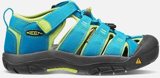 KEEN Newport H2 Sandal, Hawaiian Blue/Green, 32-33