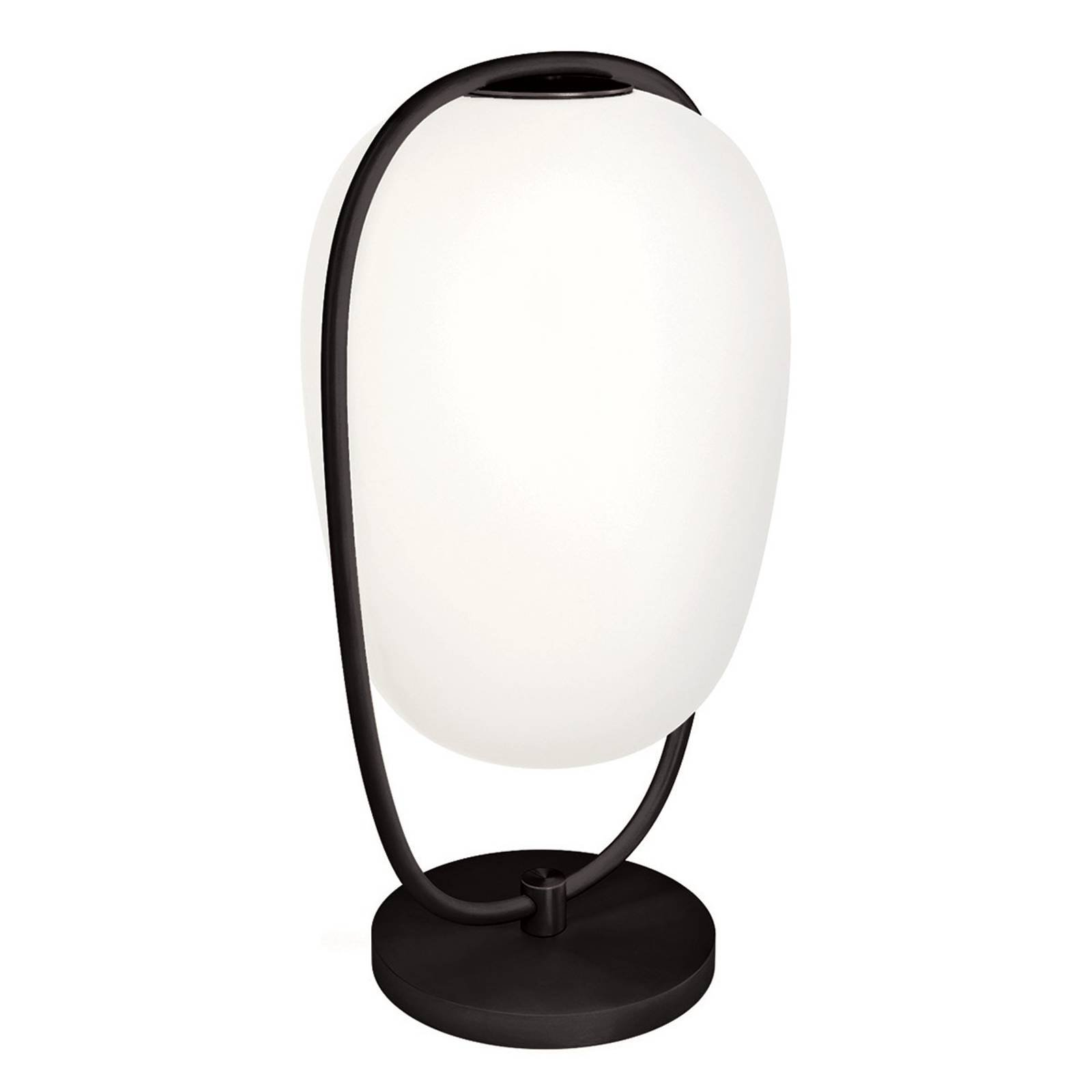 Kundalini Lannà bordlampa, svart/hvit