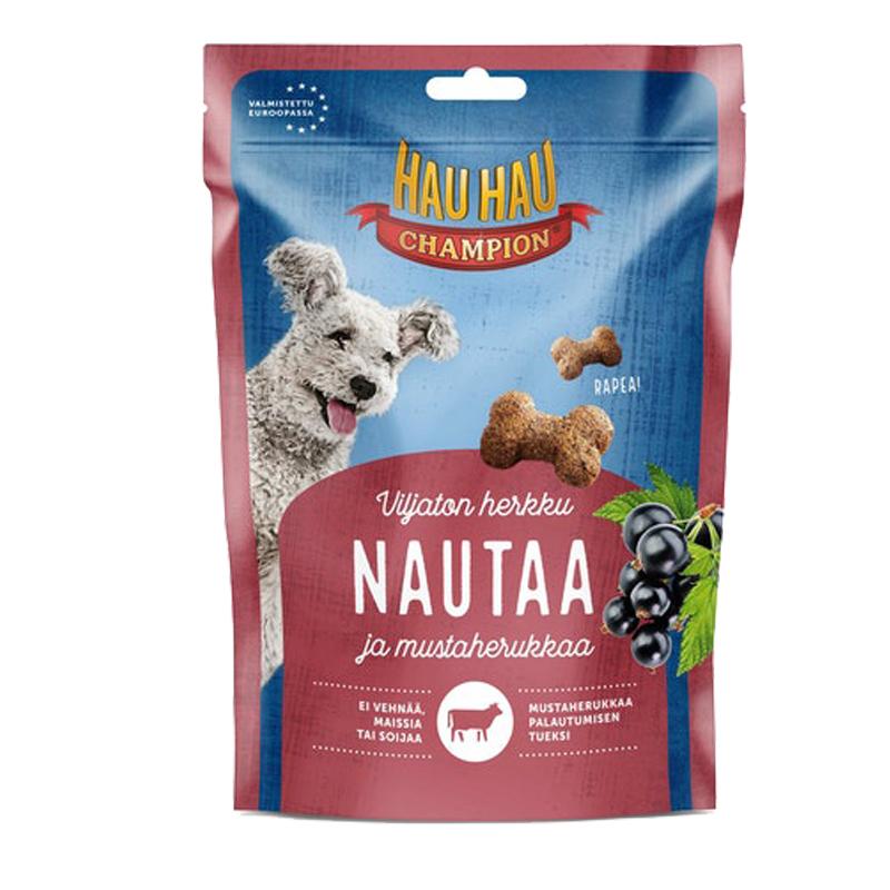 Koiranruoka Nautaa & Mustaherukkaa - 23% alennus