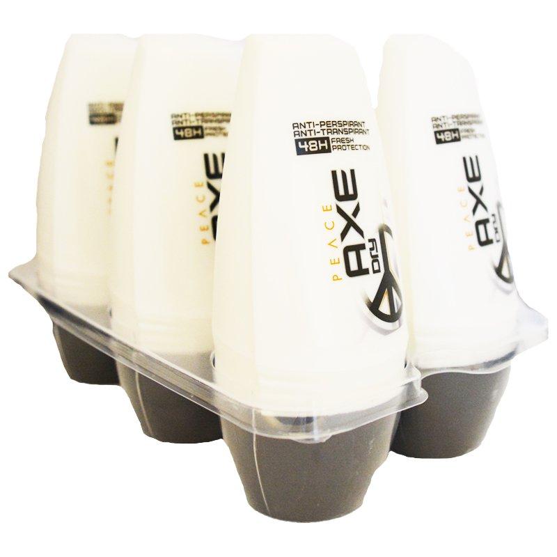 "Laatikollinen Roll-on -deodorantteja ""Peace"" 6 x 50 ml - 44% alennus"