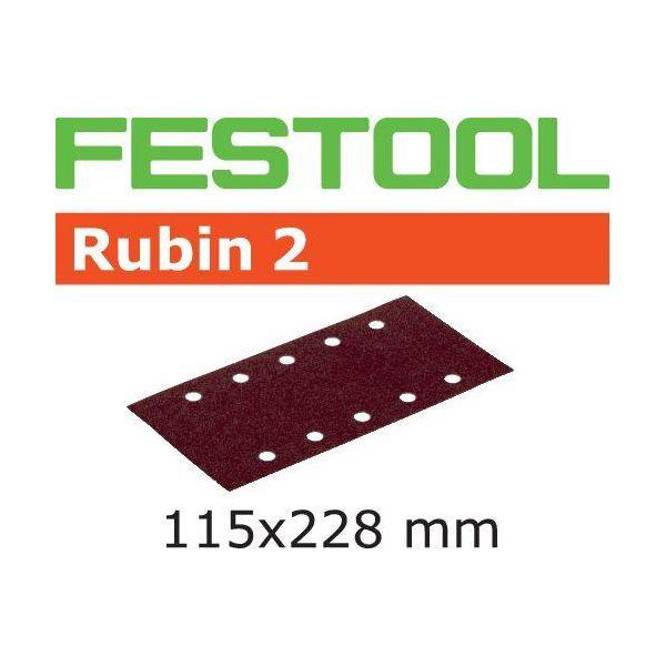 Festool STF RU2 Hiomapaperi 115x228mm 50 kpl. P100