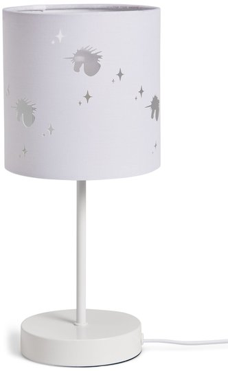 Alice & Fox Bordlampe Unicorn, White