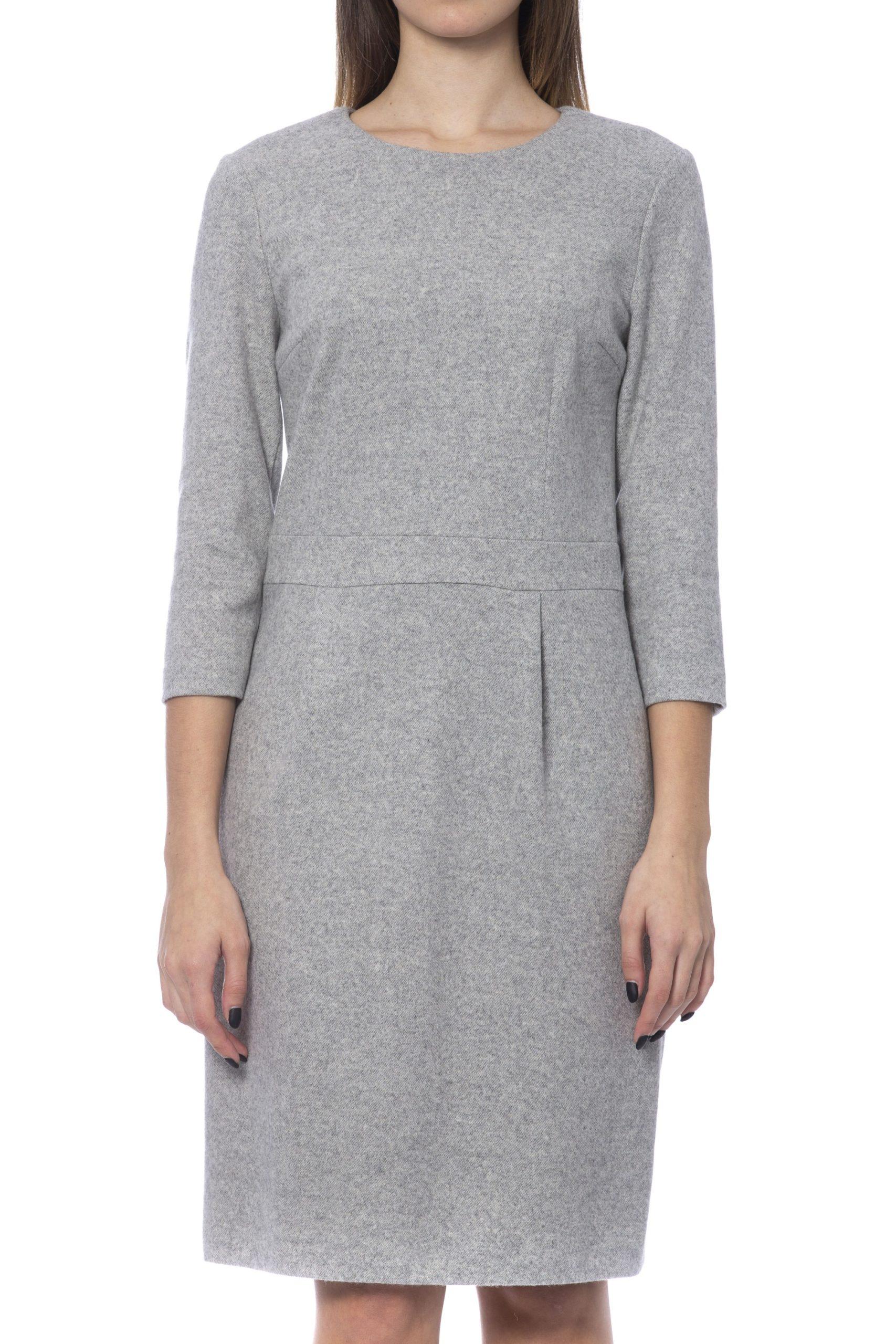 Peserico Women's Dress Grey PE992074 - IT42 | S