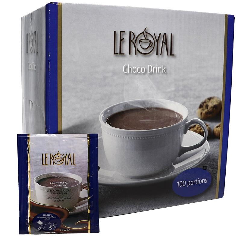 Varm choklad-pulver 100-pack - 37% rabatt