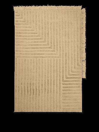 Crease Wool Matta Large Light Sand