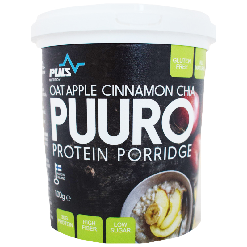 Proteingröt Oat, Apple, Cinnamon & Chia - 24% rabatt