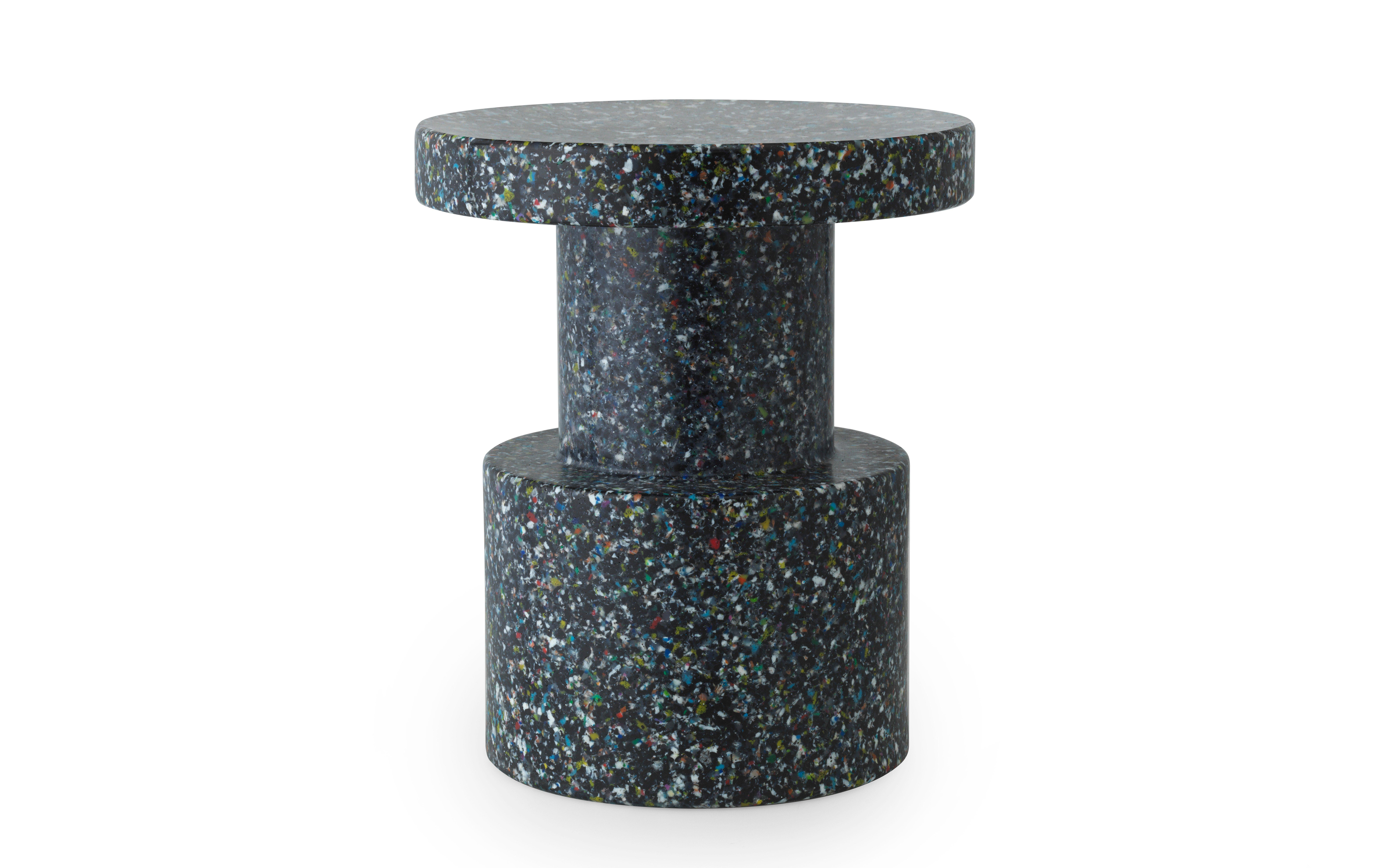 Normann Copenhagen - Bit Table / Stool - Black Multi (603008)